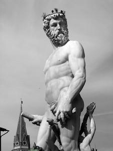 Poseidon Statue, Florence