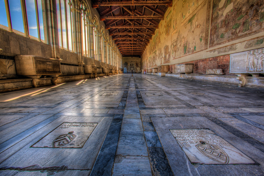 The Deserted Camposanto Monumentale in Pisa
