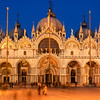 St. Mark's Basilica at night