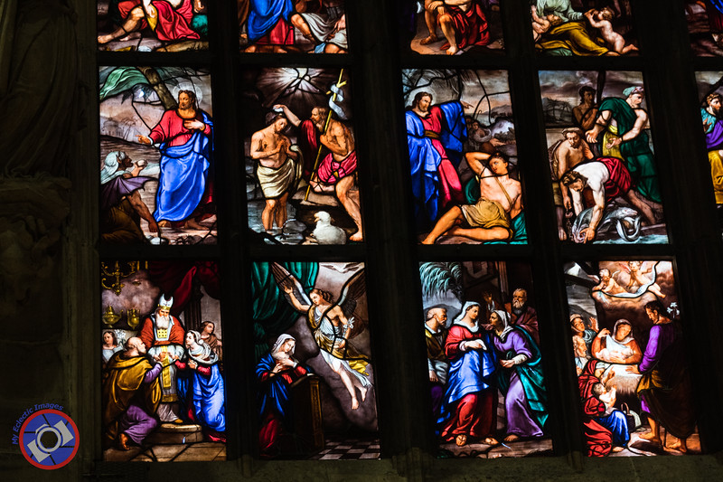 Stained Glass in the Milan Duomo (©simon@myeclecticimages.com)