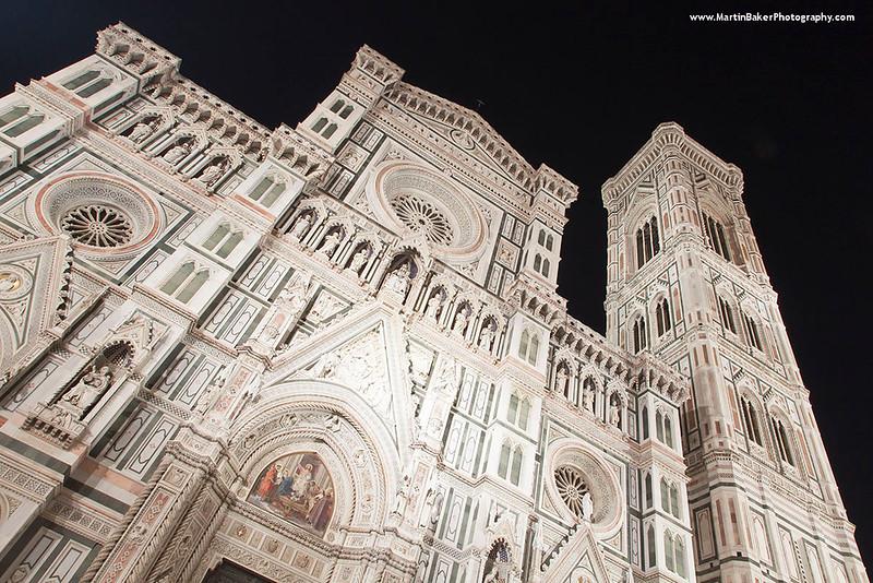 The Campanile and Santa Maria del Fiore, Florence, Tuscany, Italy.
