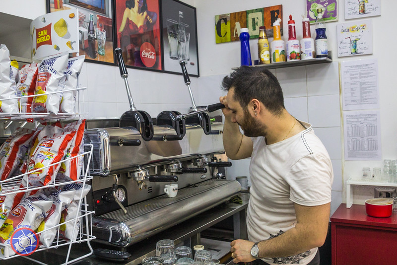 Nothing Like a Real Italian Expresso Made by a Barista in Naples (©simon@myeclecticimages.com)