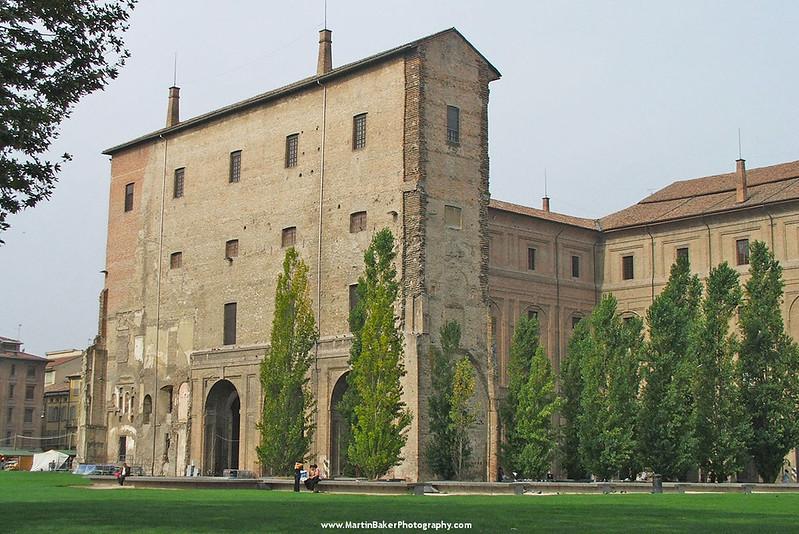 Palazzo della Pilotta, Parma, Emilia-Romagna, Italy.