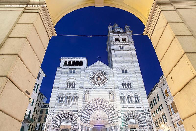 Cattedrale Di San Lorenzo, Genoa, Liguria, Italy.