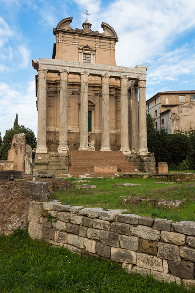Antoninus and Faustina Temple