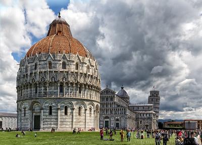 Storm over Pisa