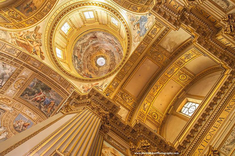 Sant'Andrea della Valle, Rome, Italy.