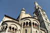 Duomo and Torre Ghirlandina, Piazza Grande, Modena, Emilia-Romagna, Italy.