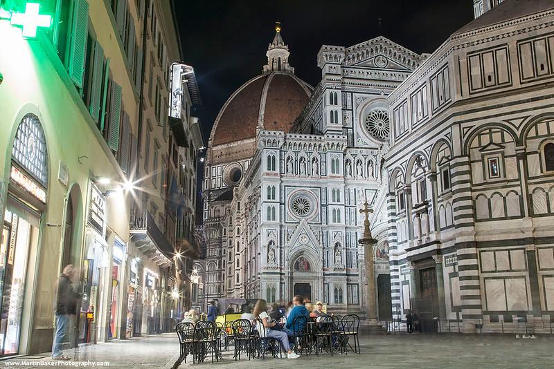 The Baptistery and Santa Maria del Fiore, Florence, Tuscany, Italy.