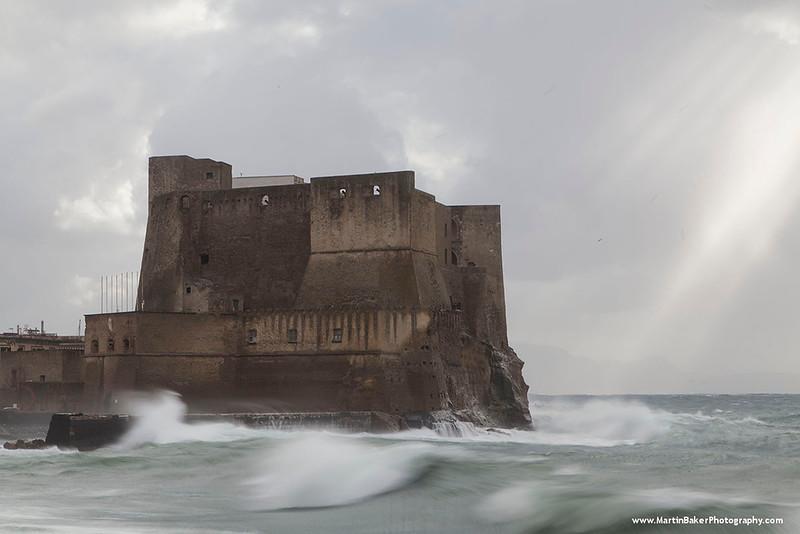 Castel dell'Ovo, Naples, Campania, Italy.