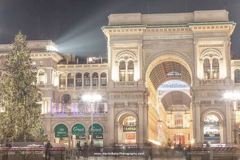 Galleria Vittorio Emanuele II, Piazza Duomo,  Milan, Lombardy, Italy.