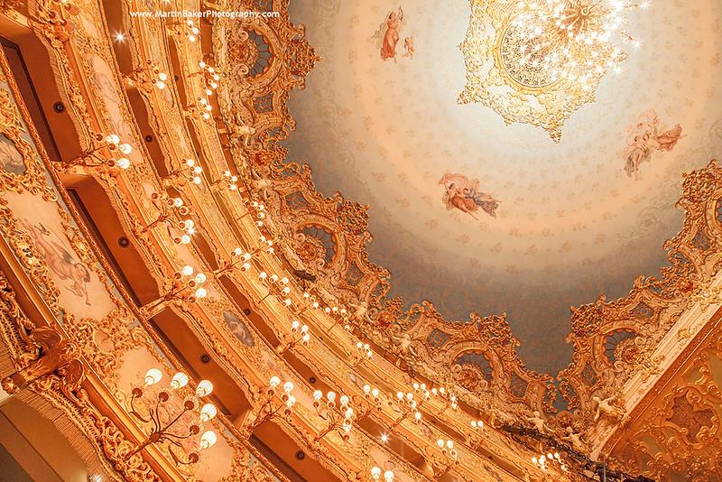 La Fenice Opera House, Venice, Italy.