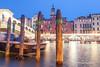 Ponte di Rialto and Canal Grande; Venice, Italy.