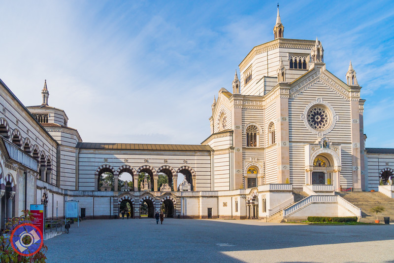 Entrance to the Milan Monumental Cemetery (©simon@myeclecticimages.com)