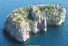 Faraglioni Rocks, Cápri, Campania, Italy.