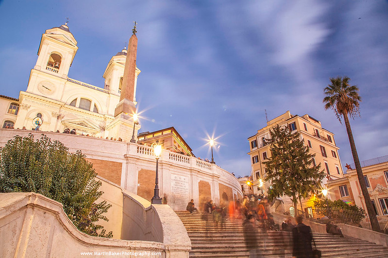 The Spanish Steps, Rome, Italy.