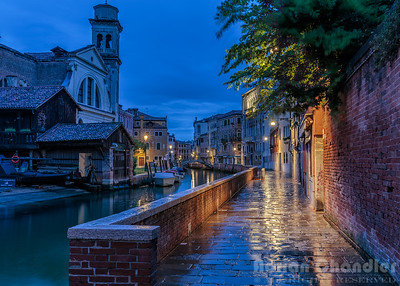 Rainy Morning in Venice