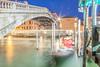 Ponte degli Scalzi and Canal Grande, Venice, Italy.