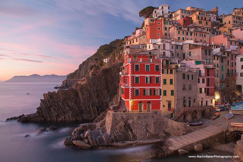Riomaggiore, Cinque Terre, Liguria, Italy.