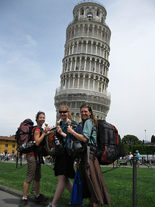 Six Bags, Three Gelatos, and One Leaning Tower