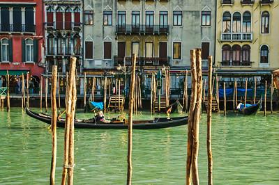 Venice, Grand Canal, gondola