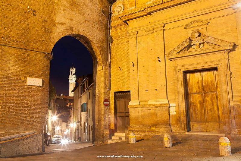 Palazzo Pubblico, Siena, Tuscany, Italy.