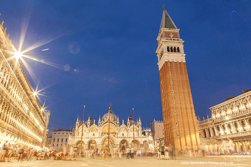 Saint Mark's Square, Venice, Italy.