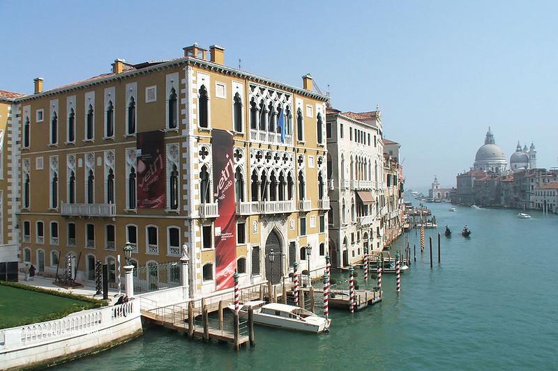 Canal Grande and Santa Maria della Salute, Venice, Italy.
