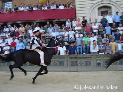 Siena - at the Palio.