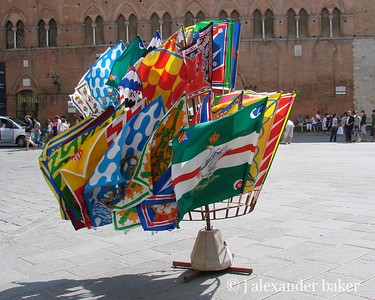 Contrada Flags, Siena