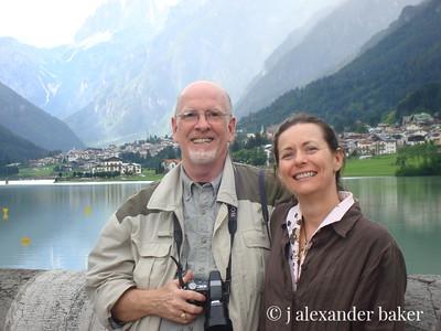 Alex & Suzette in the Dolomites