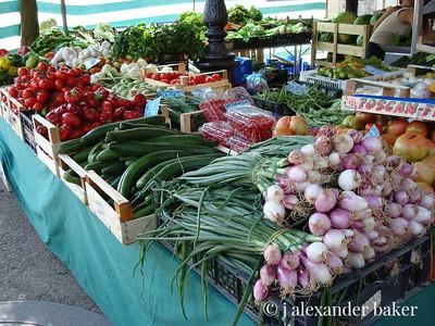 Market day, Tuscany