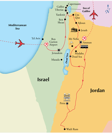In October/November, 2015 we toured Israel and Jordan for two amazing weeks.