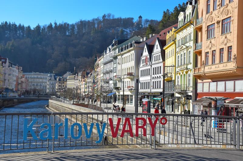 Downtown Karlovy Vary