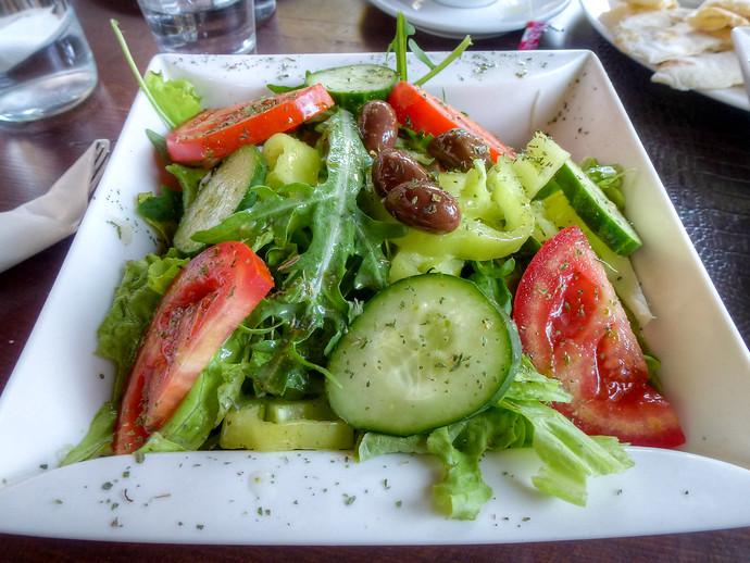 home restaurant salad pristina