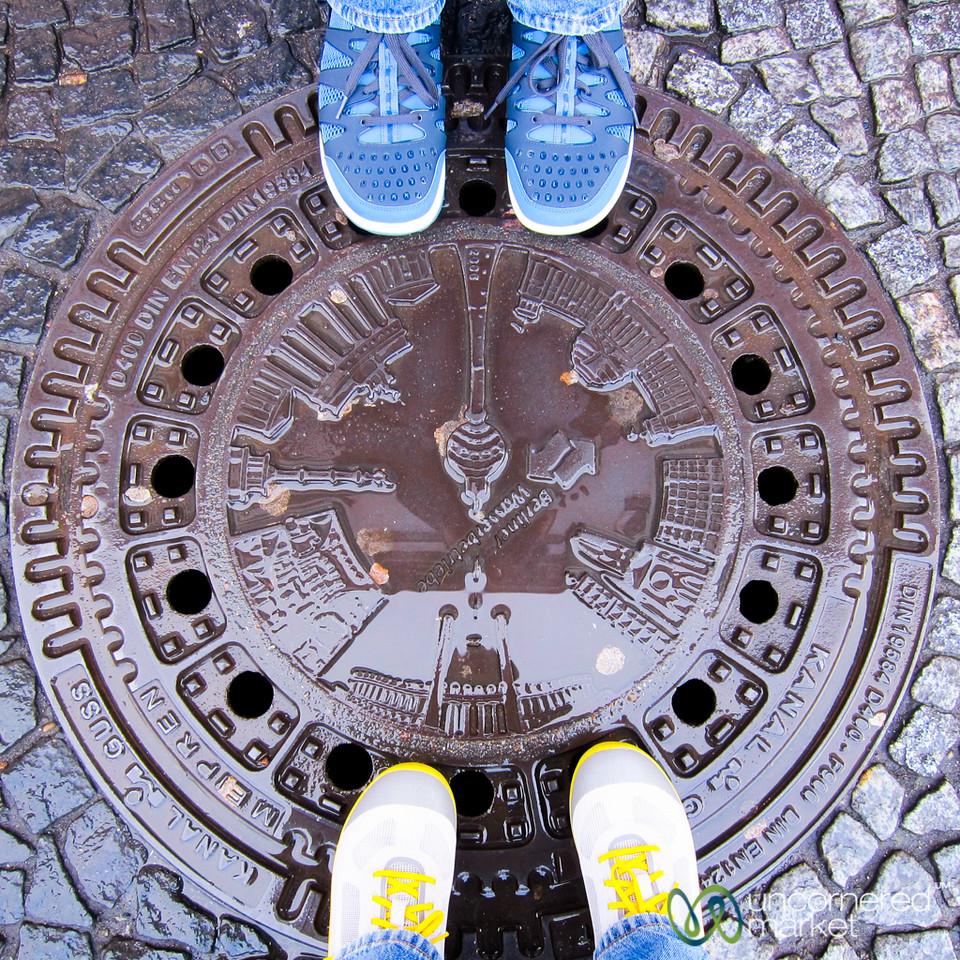 Berlin's Creative Manhole Covers