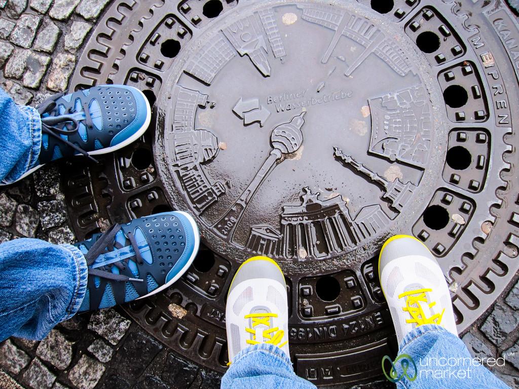 Berlin in a Manhole Cover