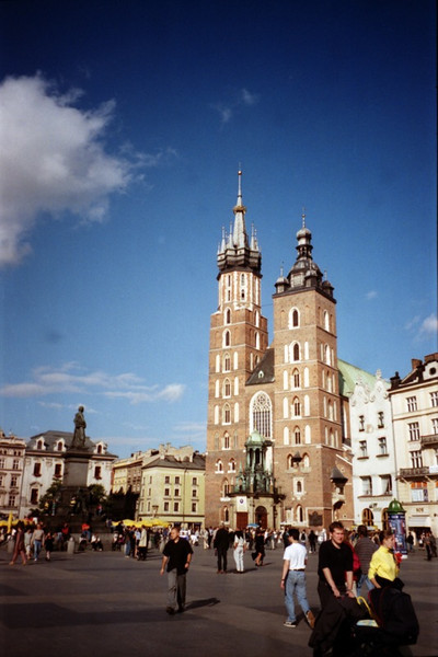 St. Mary's Church - Krakow, Poland