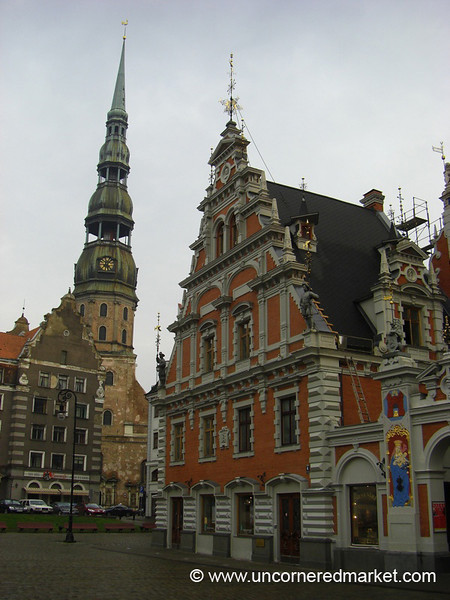 House of the Blackheads - Riga, Latvia