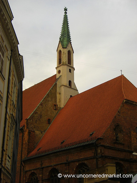 St. John's Cathedral - Riga, Latvia