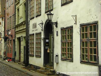 Riga Old Town Facades - Latvia