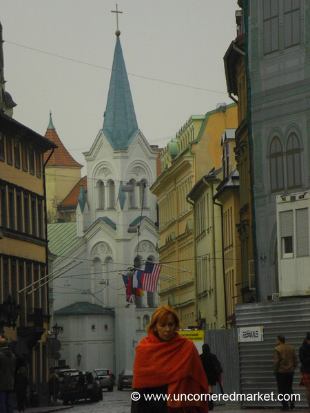 Old Town Buildings - Riga, Latvia