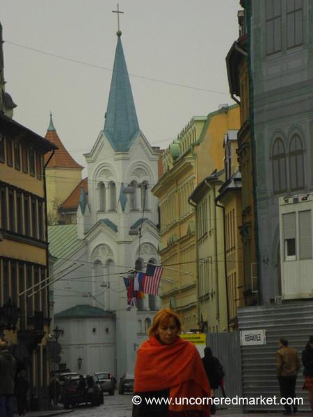 Old Town Buildings - Riga, Latvia
