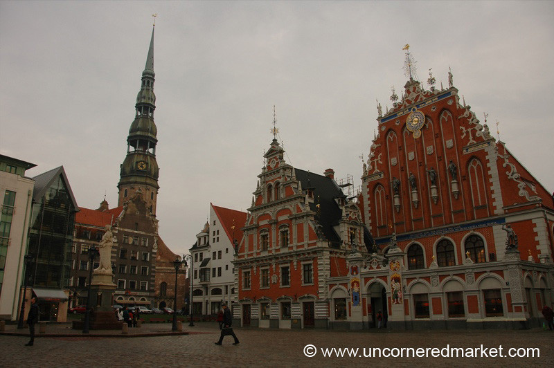 Riga's Architectural Jewels - Riga, Latvia