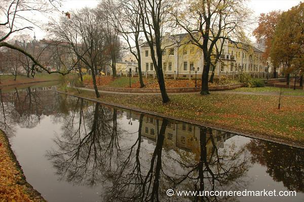 Autumn Reflections - Riga, Latvia