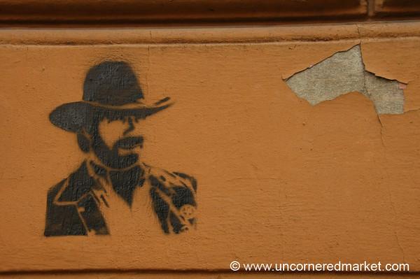 Chuck Norris Graffiti - Riga, Latvia
