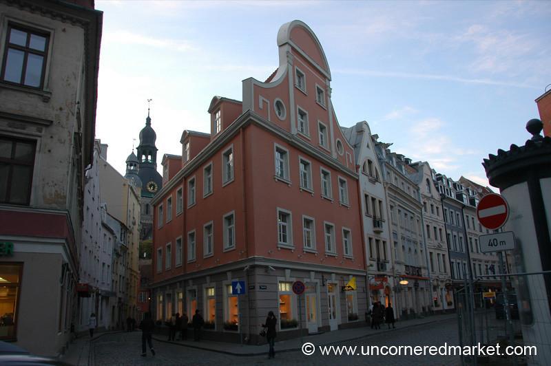 Riga's Old Town - Latvia