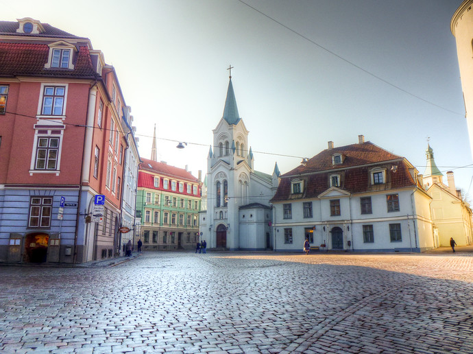 riga latvia square