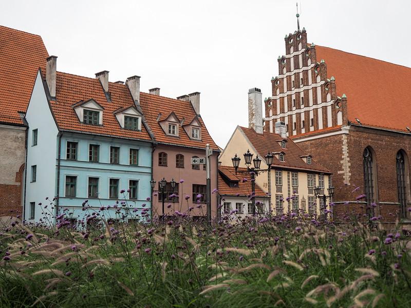 Riga Old Town architecture