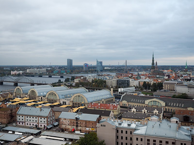View of Riga from Panorama Observation Deck